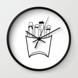 French Gentlefries Wall Clock