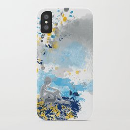 a room with view from asteroid B 612 _ the little prince iPhone Case