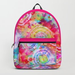 Rainbow Tie Dye Cosmos Backpack