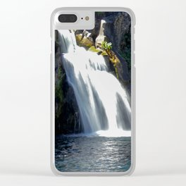 McCloud River Falls Clear iPhone Case