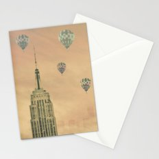Balloons over the Empire Stationery Cards