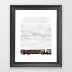 Train 2 Framed Art Print