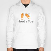 subaru Hoodies featuring Heel & Toe by Vehicle