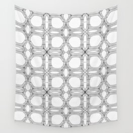 Poplar wood fibre walls electron microscopy pattern Wall Tapestry