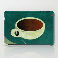 french iPad Cases featuring French Roast Coffee by Red Coat Studio Design