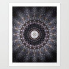 Suki (Space Mandala) Art Print