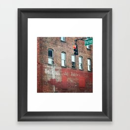 Delicious Disappearance Framed Art Print