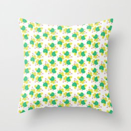 50's Contemporary Throw Pillow