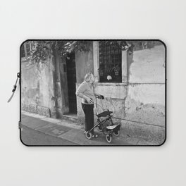 Unknown Faces In Different Places (Pt 13 - Verona, Italy) Laptop Sleeve