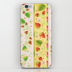 Strawberries and Cream iPhone & iPod Skin