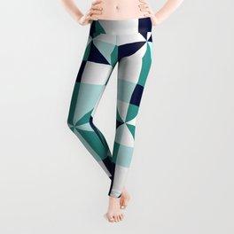 Geometric pattern of squares I Leggings