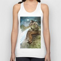"dragon age inquisition Tank Tops featuring Dragon Age Inquisition - Cole - Charity by Barbara ""Yuhime"" Wyrowińska"