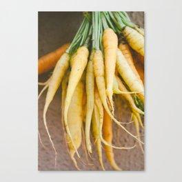Farmer's Market Carrots Canvas Print