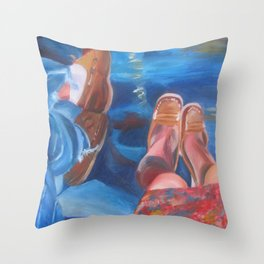 Loafer Love Throw Pillow