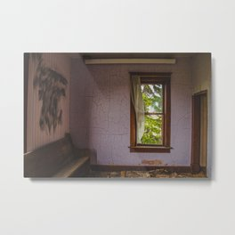 Bedroom, the Yellow House, Arena, ND Metal Print