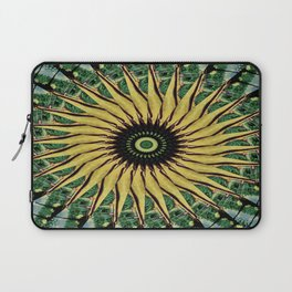 Yellow Twirl Laptop Sleeve
