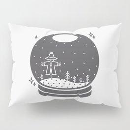 Halloween in a crystal ball Pillow Sham