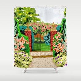 Gated Garden Shower Curtain