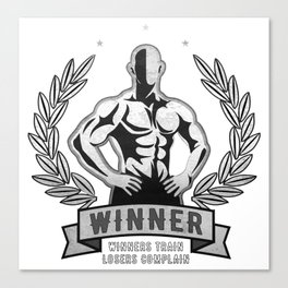 Winner Canvas Print