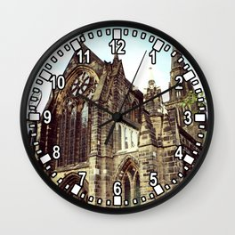 glasgow cathedral medieval cathedral Wall Clock