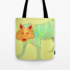 Wolf Collaboration Tote Bag