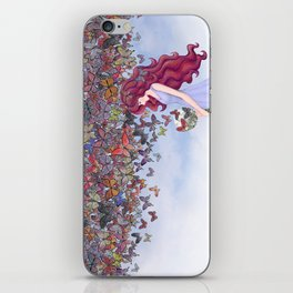aflutter iPhone Skin