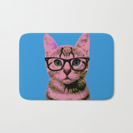 Warhol Cat 1 Bath Mat