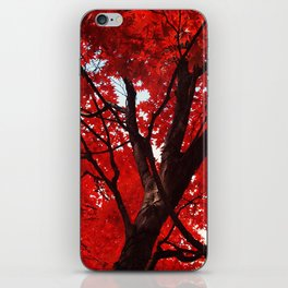 Red Canopy iPhone Skin