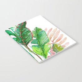 vertical tropical nature Notebook