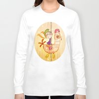 carousel Long Sleeve T-shirts featuring Carousel by José Luis Guerrero
