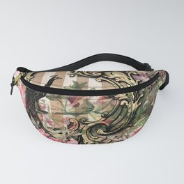 Feather Peacock 21 Fanny Pack