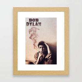 Bob Dylan Framed Art Print
