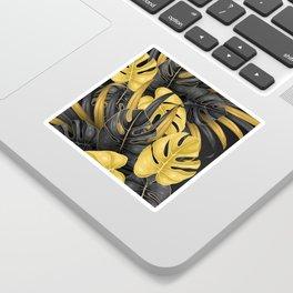 Tropical Gold Sticker