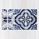 blue tile pattern VII - Azulejos, Portuguese tiles by ingz