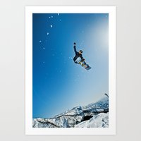 snowboard Art Prints featuring SnowBoard ! by MarcioAbe Photography