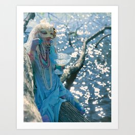 The Daughter of Cups Art Print