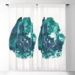 30| Abstract Watercolor | January 2021 | Valourine Original Blackout Curtain