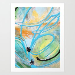 Cause for the creative Art Print