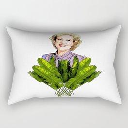 Rose the Golden Girl Rectangular Pillow