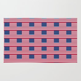 american flag2-Usa,america,united states,us,stars and strips,patriotic,patriot,star spangled banner Rug