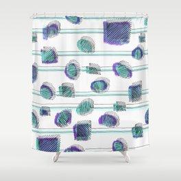 INTERFERE Shower Curtain