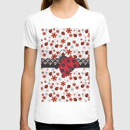 Charming Ladybugs T-shirt