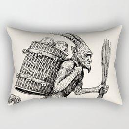 Gruss vom Krampus Rectangular Pillow