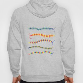 Colorwheel Centipedes Hoody