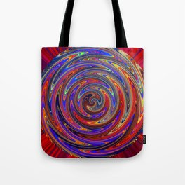 Swirly Twirly Colorful Lollipop Tote Bag