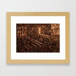 Vintage Lockhouse Revival Framed Art Print