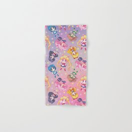 Chibis Crystal Pattern Hand & Bath Towel