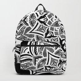 Black mndala for fun Backpack