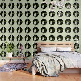 Giraffe in geometric style Wallpaper