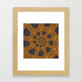 Orange III Framed Art Print